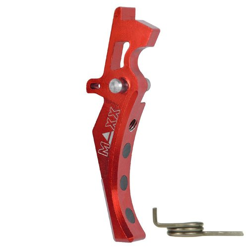 Maxx Model Maxx Model CNC Aluminum Advanced Trigger Style D - Red