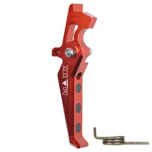 Maxx Model Maxx Model CNC Aluminum Advanced Trigger Style E - Red