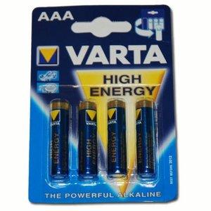 Varta Varta AAA Batterij (4 stuks)