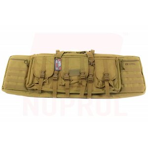 Nuprol Nuprol PMC DeLuxe Double Rifle Gun Bag 42inch Tan