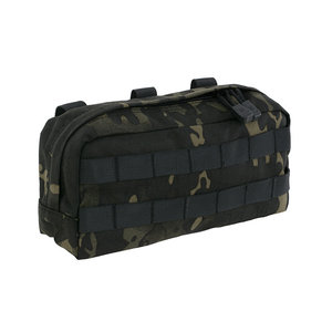 8Fields 8Fields Big Horizontal Utility Pouch Multicam Black