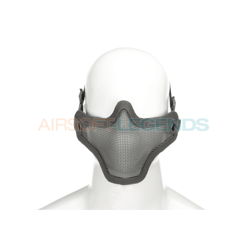 Invader Gear Invader Gear Steel Half Face Mask Grey