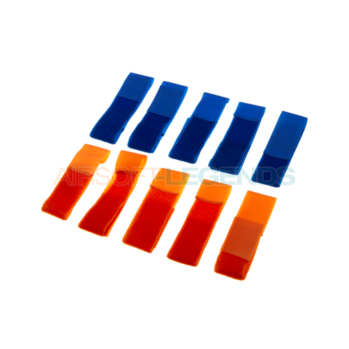 Invader Gear Invader Gear Team Patch Set Blue / Orange