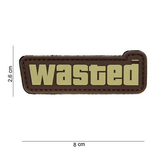 101Inc. 101Inc. Wasted PVC patch Brown