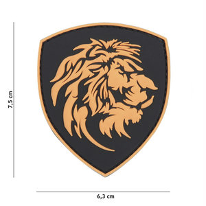 101Inc. 101Inc. Dutch Lion PVC Patch Orange