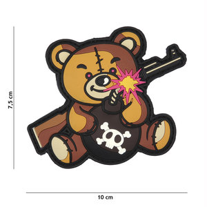 101Inc. 101Inc. Terror Teddy PVC Patch Brown