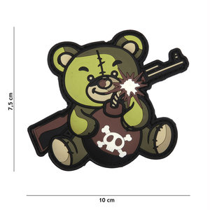 101Inc. 101Inc. Terror Teddy PVC Patch Green