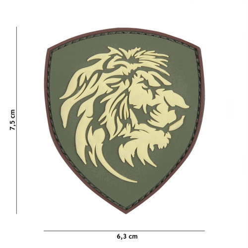 101Inc. 101Inc. Dutch Lion PVC Patch Green