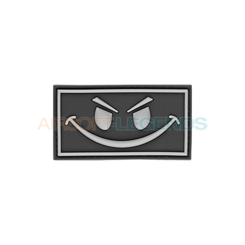 JTG JTG Evil Smile Rubber Patch Black