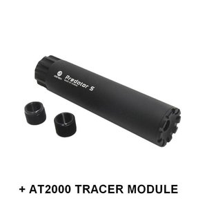 Acetech Acetech Aluminium Silencer Predator S with AT2000 TRACER Module