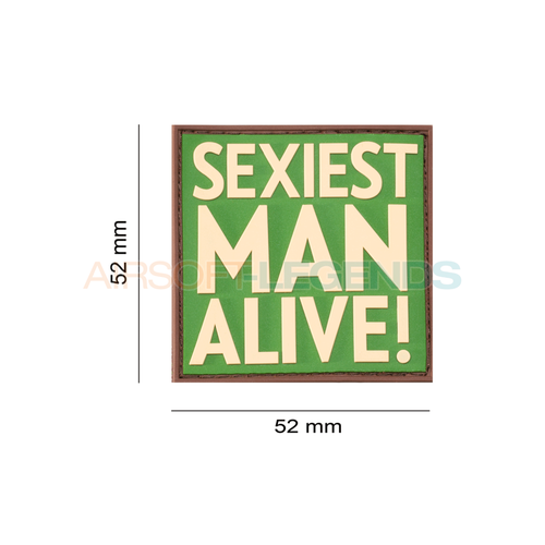 JTG JTG Sexiest Man Alive Rubber Patch