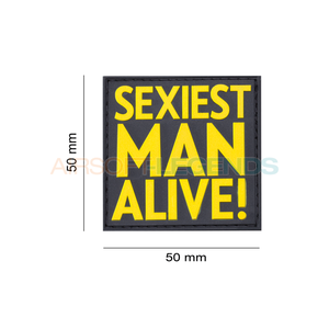 JTG JTG Sexiest Man Alive Rubber Patch Yellow