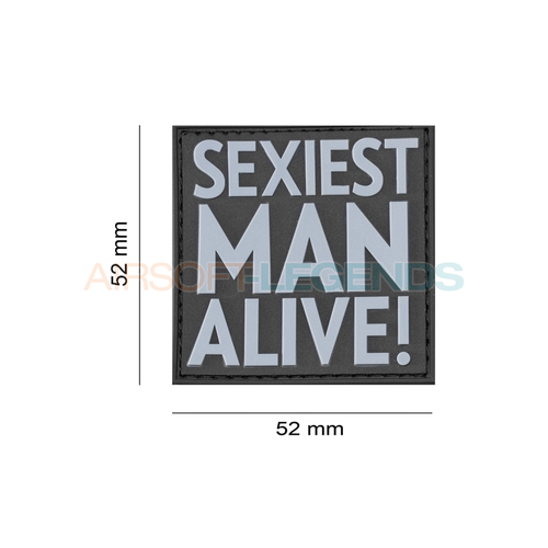 JTG JTG Sexiest Man Alive Rubber Patch Black