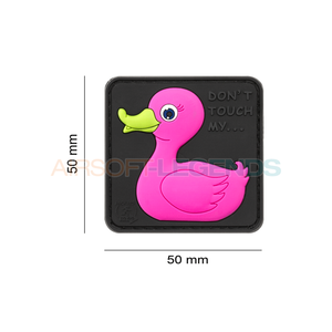 JTG JTG Tactical Rubber Duck Rubber Patch Pink
