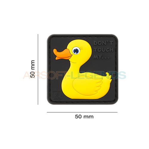 JTG JTG Tactical Rubber Duck Rubber Patch Yellow