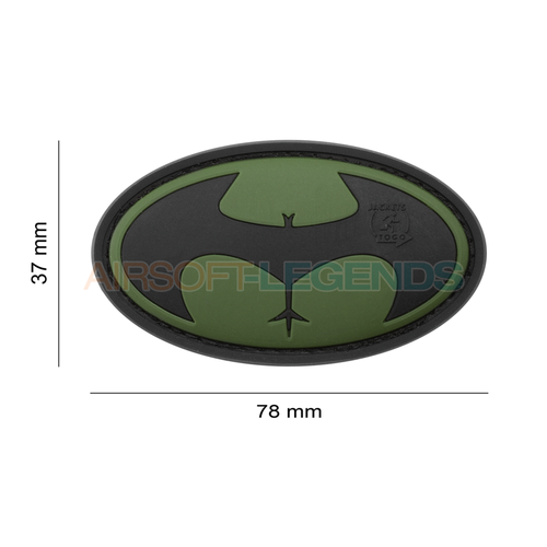 JTG JTG Buttman Rubber Patch OD Green
