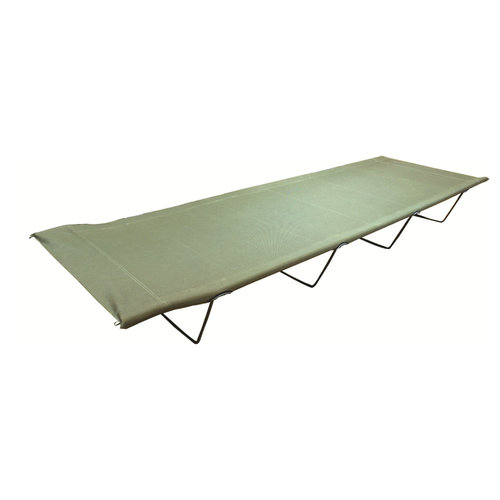 Highlander Highlander Olive Camp Bed