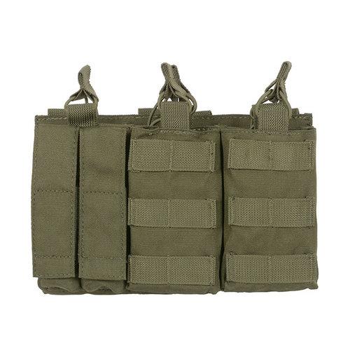 8Fields 8Fields Triple AK MAG/Pistol Pouch Panel OD