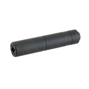 Metal Metal 155x30mm CCW Silencer Black