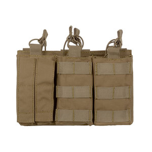 8Fields 8Fields Triple AK MAG/Pistol Pouch Panel Coyote