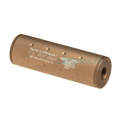 FMA FMA 107mm Navy Seals Silencer CW/CCW Dark Earth
