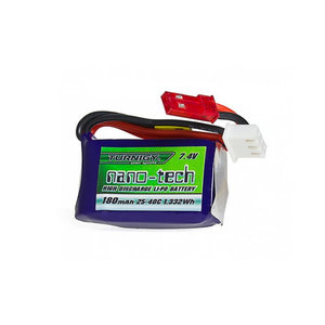 Nano-Tech Nano-Tech 7.4V 180MAH Lipo Battery for HPA