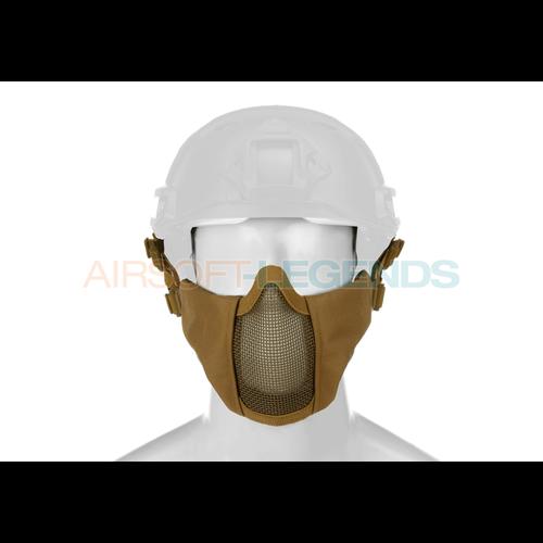 Invader Gear Invader Gear Mk.II Steel Half Face Mask FAST Version Coyote