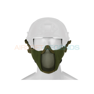 Invader Gear Invader Gear Mk.II Steel Half Face Mask FAST Version OD