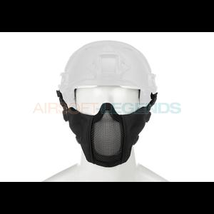 Invader Gear Invader Gear Mk.II Steel Half Face Mask FAST Version Black