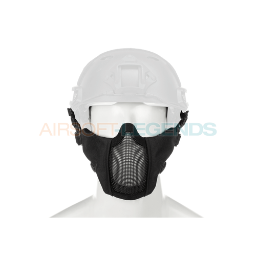 Invader Gear Invader Gear Mk.II Steel Half Face Mask FAST Version Black