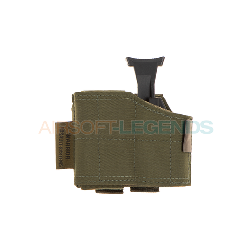 Warrior Assault Systems Warrior Assault Universal Pistol Holster Left Handed OD