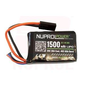 NUPROL Nuprol 7.4v Lipo Battery PEQ 1500mah