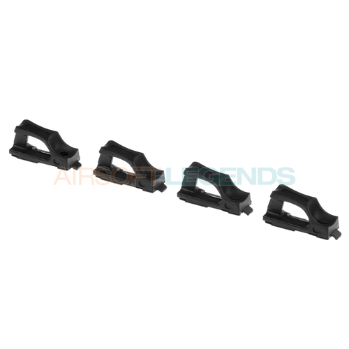 Element Element M4 Speedplate Black (Set 4 stuks)