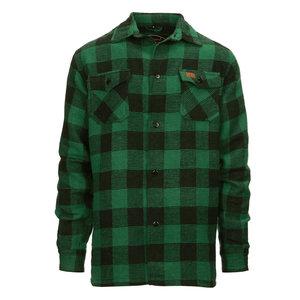 Fostex Fostex Houthakkers Hemd Zwart/Groen