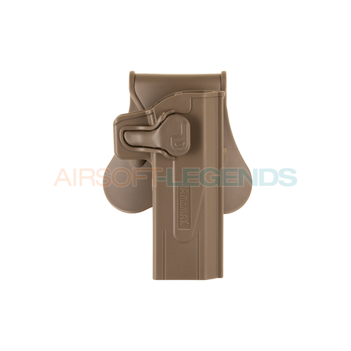 Amomax Amomax Paddle Holster for WE / TM Hi-Capa Tan