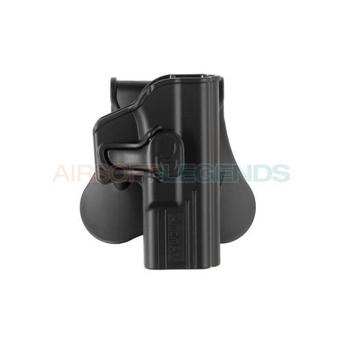 Amomax Amomax Paddle Holster for G19 / ICS BLE-XAE Black