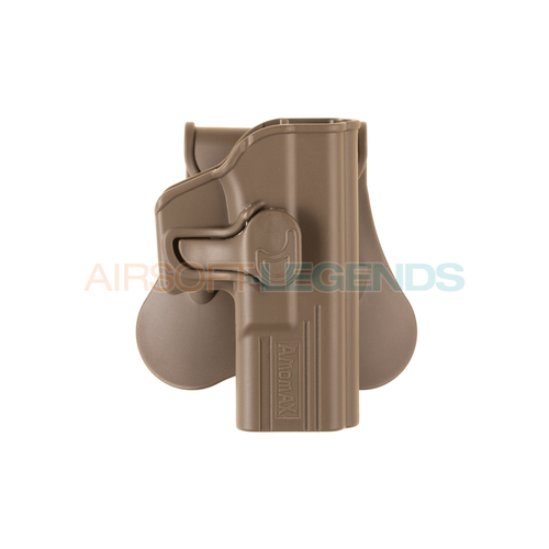Amomax Amomax Paddle Holster for G19 / ICS BLE-XAE Tan
