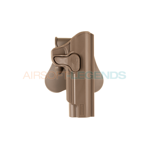 Amomax Amomax Paddle Holster for WE / KJW / KWA / TM 1911 Tan