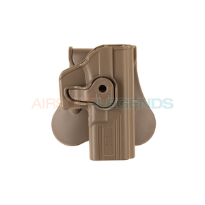 Amomax Amomax Paddle Holster for WE17 / TM17 / KJW17 Tan
