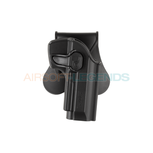 Amomax Amomax Paddle Holster for WE / KJW / KWA / TM M9 Black