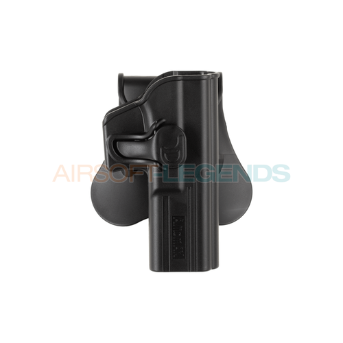 Amomax Amomax Paddle Holster for G17 / KWA ATP / APS ACP Black