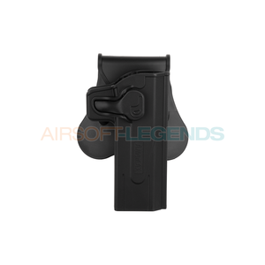 Amomax Amomax Paddle Holster for WE / KJW / TM Hi-Capa Black