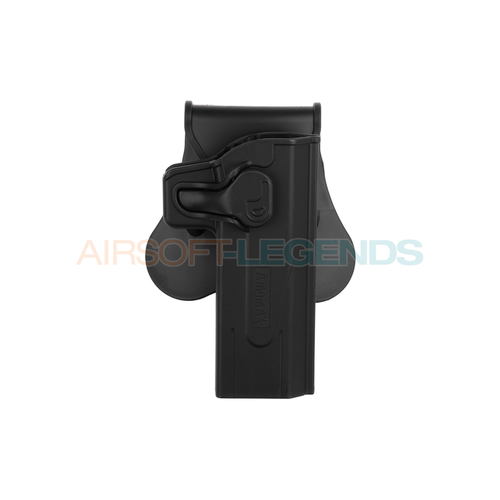 Amomax Amomax Paddle Holster for KJW Hi-Capa Black