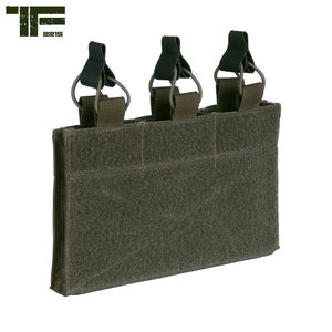 Task Force-2215 Task Force-2215 Triple M4 Pouch with Hook and Loop Panel Ranger Green