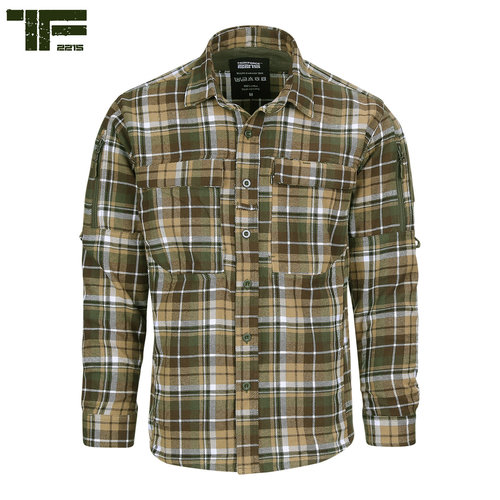 Task Force-2215 Task Force-2215 Flanel Contractor Shirt