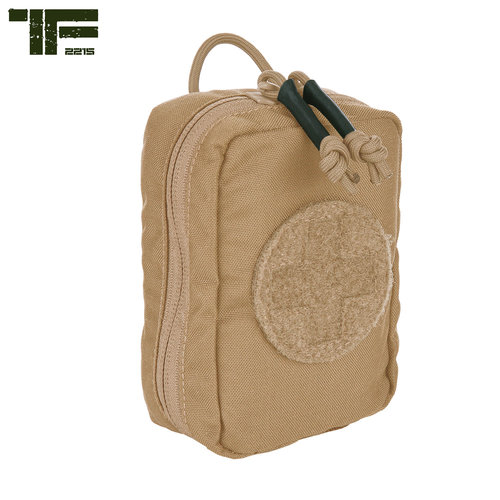 Task Force-2215 Task Force-2215 Medic Pouch Small Hook and Loop Coyote