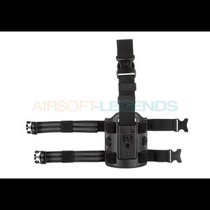 Amomax Amomax Drop Leg Platform Black