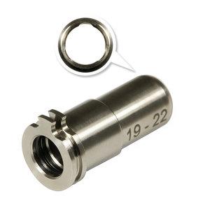Maxx Model Maxx Model CNC Titanium Adjustable Air Seal Nozzle 19mm - 22mm for AEG