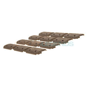 MP MP M-LOK Rail Covers 12pcs Dark Earth