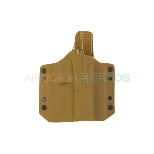 Warrior Assault Systems Warrior Assault ARES Kydex Holster for Glock 17/19 Coyote